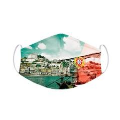 Ghuts Máscara Tam. L Reutilizável Certificada Fit GH200 H48 PT Porto  | Ref. 294.2020048